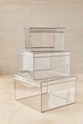 Urban Outfitters Looker Storage Box Clear