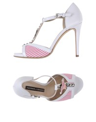 Norma J.Baker Footwear Sandals Women White