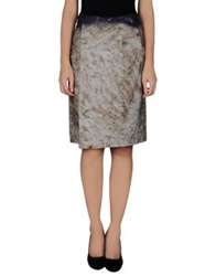 Stephan Schneider Knee Length Skirts Grey