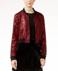 Rachel Roy Sequin Bomber Jacket Only At Macy's Doc Marten