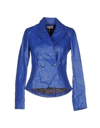 Met Suits And Jackets Blazers Women Bright Blue