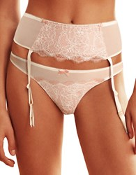 B.Tempt'd Sultry Garter Belt Vanilla Ice