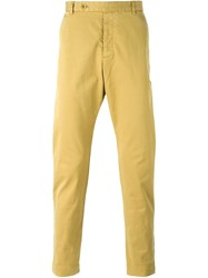 Ymc Slim Chino Trousers Green