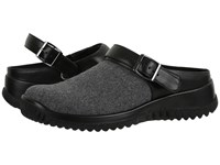 Drew Shoe Savannah Grey Flannel Women's Clog Shoes Gray