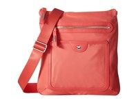 Baggallini Highland Slim Crossbody Coral Cross Body Handbags
