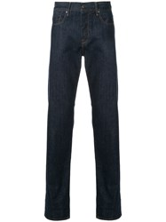 Kent And Curwen Straight Leg Jeans Blue