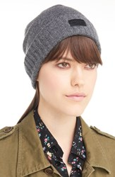 Saint Laurent Women's Cashmere Beanie Grey Graphite