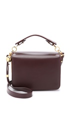 Sophie Hulme Cross Body Messenger Bag Oxblood