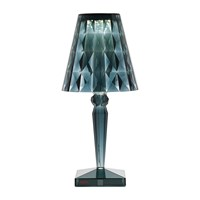 Kartell Big Battery Dimmable Table Lamp Light Blue