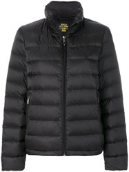 Polo Ralph Lauren Padded Down Jacket Feather Down Nylon Black