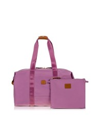Bric's X Bag Medium Foldable Last Minute Holdall In A Pouch Violet