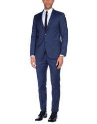 Tombolini Suits And Jackets Suits Dark Blue