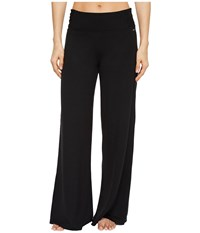 Jockey Active Voluminous Wide Leg Pants Deep Black Casual Pants