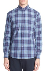Men's Patrik Ervell Extra Trim Fit Plaid Shirt