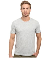 Agave Supima Crew Neck Short Sleeve Tee Heather Men's T Shirt Gray