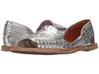 Sbicca Jared Silver Flat Shoes