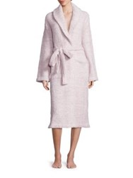 Barefoot Dreams Cozychic Heathered Robe Stone White Ocean White