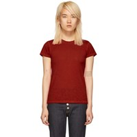 Rag And Bone Red The Tee T Shirt