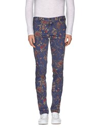 Mason's Trousers Casual Trousers Men Slate Blue