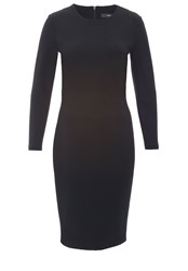 Hallhuber Jersey Jersey Shift Dress Black