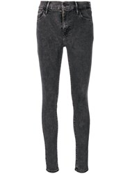 Levi's Mid Rise Skinny Jeans Grey