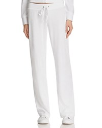 Juicy Couture Black Label Mar Vista Terry Flare Pants White