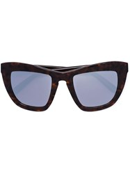Vera Wang Cat Eye Sunglasses Brown