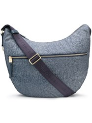 Borbonese Luna Shoulder Bag Blue