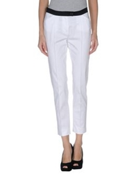 Diana Gallesi Casual Pants White
