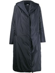 P.A.R.O.S.H. Long Hooded Jacket Blue