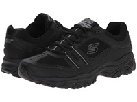 Skechers Afterburn M. Fit Strike Off Black Men's Lace Up Casual Shoes