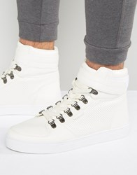Rock And Religion High Top Trainers White
