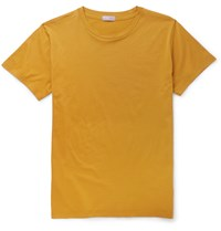 Margaret Howell Cotton Jersey T Shirt Yellow