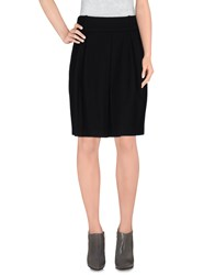 Henry Cotton's Skirts Knee Length Skirts Women Black