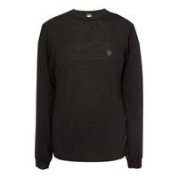 Pretty Green Mosley Merino Jumper Black