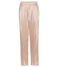 Rag And Bone Sally Silk Trousers Pink