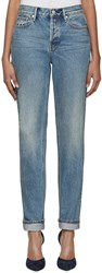 Earnest Sewn Blue Straight Leg Victoria Jeans