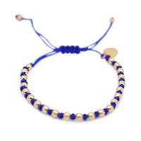 Gideon John Jewellery Yellow Gold Lux Blue Knot