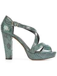 Tila March 'Nevada' Sandals Blue