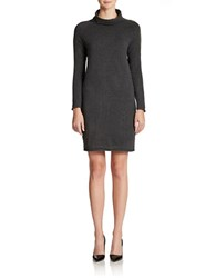 French Connection Mock Turtleneck Sweater Dress