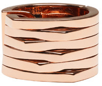 Repossi Rose Gold 6 Rows Antifer Ear Cuff