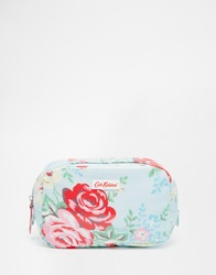 Cath Kidston Classic Box Make Up Case With Nylon Zip Park Rose Parkrose