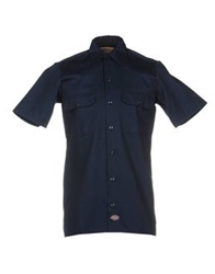 Dickies Shirts Dark Blue