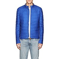 Save The Duck Channel Quilted Jacket Blue