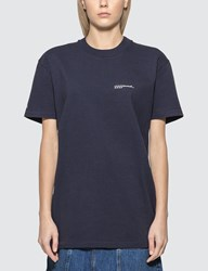 A.P.C. X Jjjjound T Shirt Blue