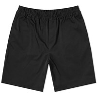 Acne Studios Richard Cotton Twill Short Black