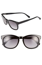Men's Jack Spade 'Bryant' 52Mm Retro Sunglasses Black Grey Gradient
