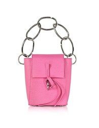 3.1 Phillip Lim Leigh Small Top Handle Crossbody Bag W Chain Pink