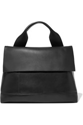 Marni City Pod Leather Tote Black