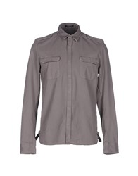 Cnc Costume National Homme Shirts Grey